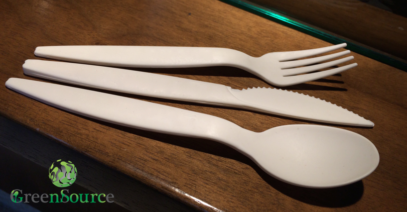 Beautiful Cutlery from Compostable Materials