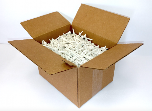 Box of Eco Golf Tee